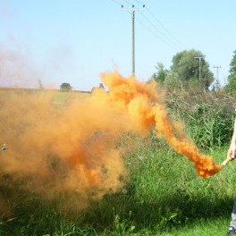 Smoke 1 orange