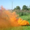 """""""Dūmius 3"""" spalvotų dūmų generatorius - oranžinis"""