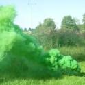 """""""Dūmius 3"""" spalvotų dūmų generatorius - žalias"""