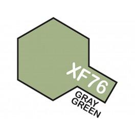 """Matiniai pilkai žali dažai """"XF76"""""""
