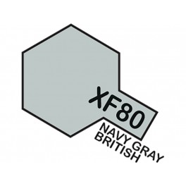 """Matiniai pilki dažai """"XF80"""" (Britų laivyno pilka)"""