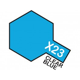"Skaidrūs mėlyni dažai ""X23"""
