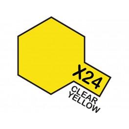 """Skaidrūs geltoni dažai """"X24"""""""