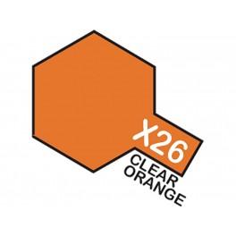 """Skaidrūs oranžiniai dažai """"X26"""""""