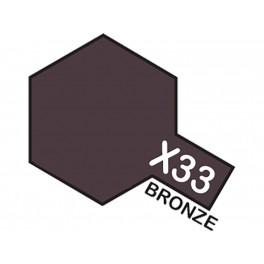 """Blizgūs bronzos spalvos dažai """"X33"""""""