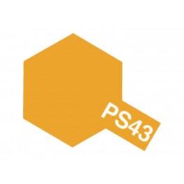"""Dažai kėbului """"PS-43"""" oranžiniai permatomi"""
