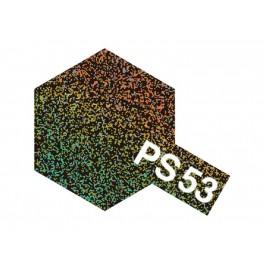"""Dažai kėbului """"PS-53"""" juoda su spalvotais blizgučiais"""