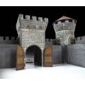 Viduramžių akmeninė pilis