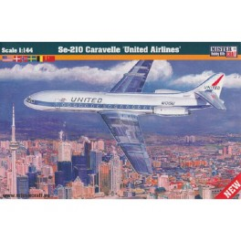 Se-210 Caravelle United Airlines