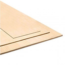 Plywood 0,4x300x600mm 3 ply
