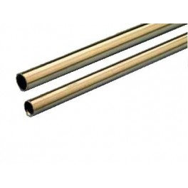 Brass tube 18x16,1x1000mm