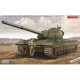 Britų tankas Super Conqueror FV214 MK.I