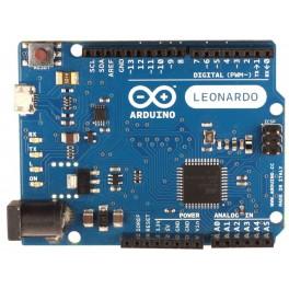 Arduino Leonardo R3 su jungtimis