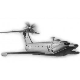 """Desantinis ekranoplanas A-90 """"Orlyonok"""""""
