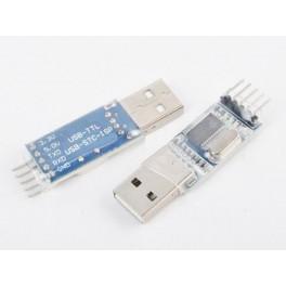 PL2303 Iš USB į TTL 5 kontaktų konverteris