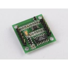 Dviejų ašių skaitmeninis kompaso modulis GPS navigacijai