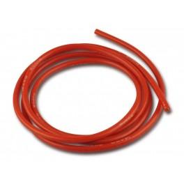 Silikoninis raudonas laidas 1,0 mm² 17AWG