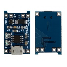 5V Micro USB 1A Lithium Battery Charger